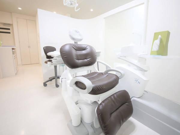 「えごし歯科医院」のチェア