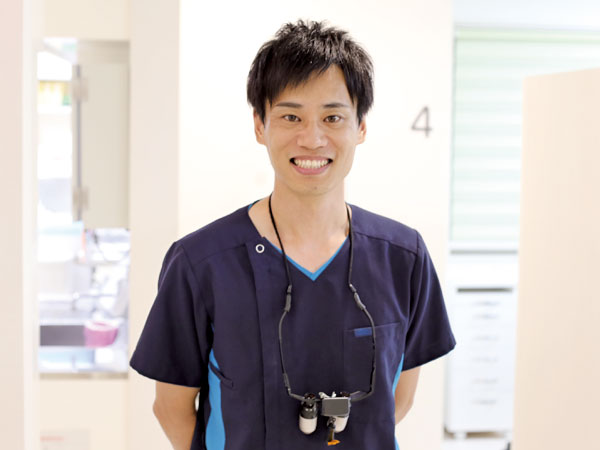「えごし歯科医院」院長 江越良輔